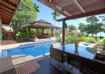 Deluxe Villa, 1 King Bed, Private Pool, Partial Ocean View