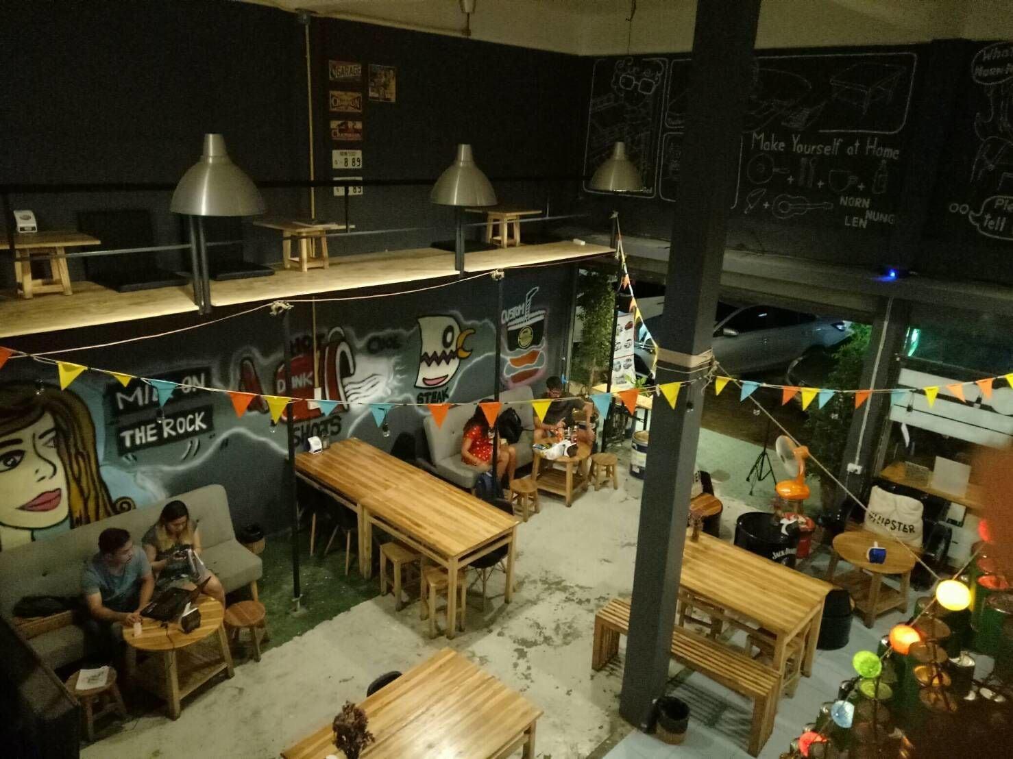 Norn Nung Len Cafe & Hostel, Muang Chiang Rai