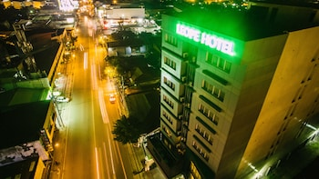 LEOPE HOTEL Front of Property - Evening/Night