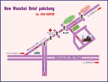 New Wanchai Hotel Pakchong - Interior Entrance  - #0