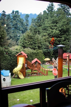 Los Vagones Cabañas Restaurante Bar - Childrens Play Area - Outdoor  - #0