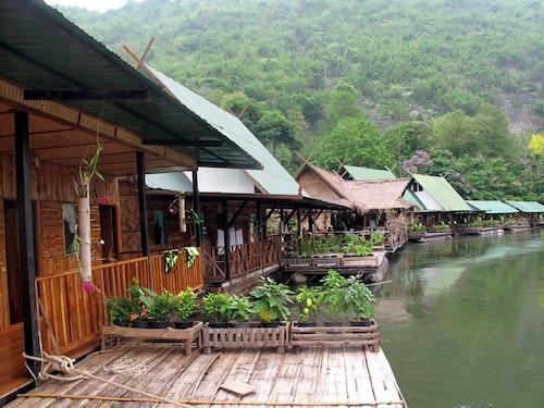 River Kwai Jungle view, Sai Yok
