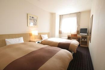ツインルーム 禁煙 弘前プラザホテル
