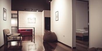 D Hostel - Lobby Sitting Area  - #0