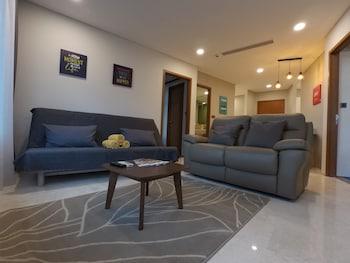 Luxury Suites at Vortex KLCC - Living Room  - #0