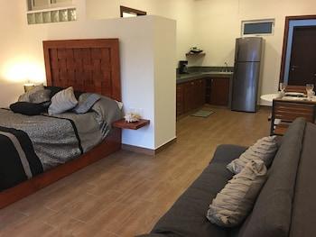 混合開放式公寓飯店