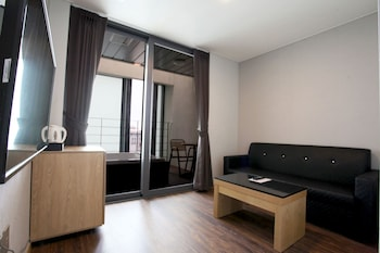 Jeju Slim Hotel - Living Area  - #0