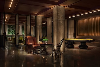 Lobby Sitting Area at PUBLIC, an Ian Schrager hotel in New York