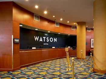 Reception at The Watson Hotel in New York