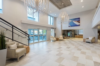 Lobby at Fairfield Inn & Suites by Marriott Ocean City in Ocean City