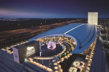 Aerial View at MGM National Harbor Resort & Casino in Oxon Hill