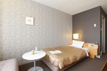 デラックス シングルルーム シングルベッド 1 台 (禁煙/喫煙ルームのご希望に添えない場合もございます)|16㎡|ホテルグランヴェール岐山
