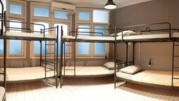 Ortak Ranzalı Oda, Karma Ranzalı Oda (5 Bunk Bed)