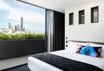 Guestroom at Sage Hotel James Street in Fortitude Valley