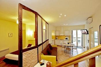 Apartment, Terrace (2 Pers La Boetie)