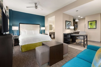 ADA Accessible Studio, 1 King Bed, Accessible, Bathtub (Mobility & Hearing)