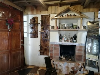 TRIBUHAUS BACKPACKERS INN Fireplace