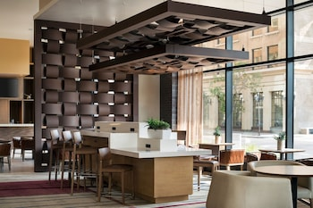 Lobby Lounge at Residence Inn Phoenix Downtown in Phoenix