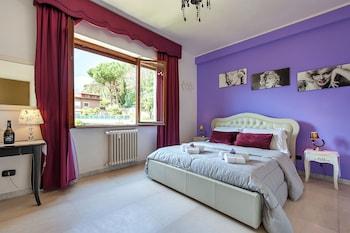 Romantic Double Room, 1 Queen Bed, Garden View