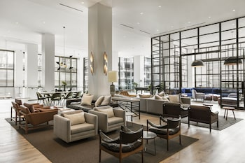 Lobby at Kimpton Everly Hotel in Los Angeles