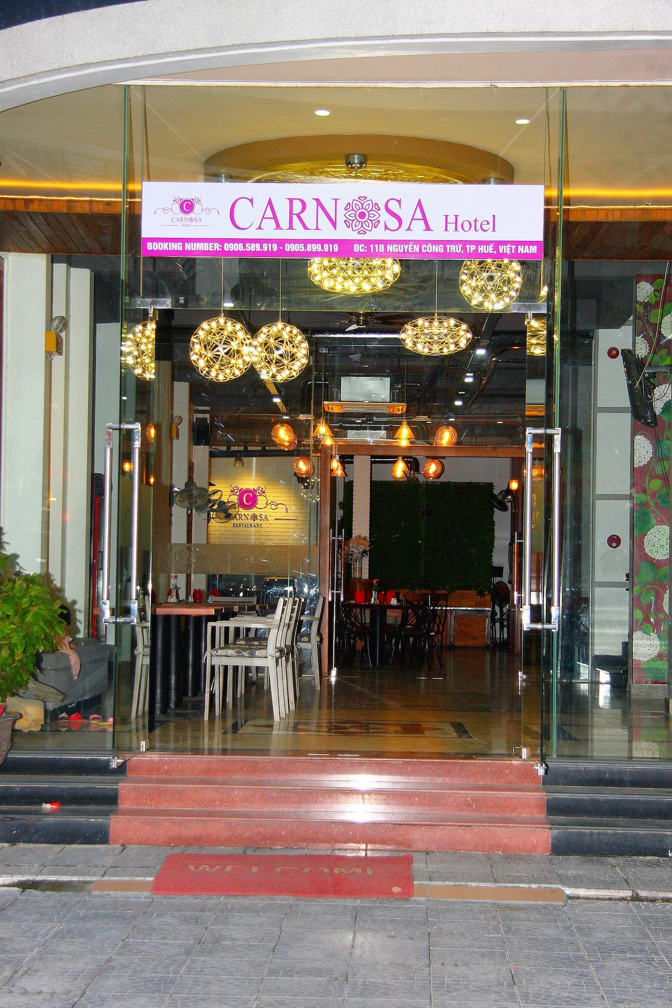 Carnosa Hotel, Huế
