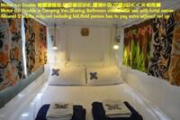 이코노미 더블룸, 더블침대 1개, 바다 정면 (CampVan)
