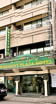 WREGENT PLAZA HOTEL Front of Property