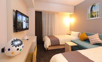 スタンダード ツインルーム|19㎡|変なホテル舞浜 東京ベイ