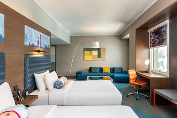aloft, Junior Suite, 2 Queen Beds, Non Smoking