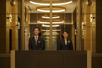 HOTEL THE CELESTINE GINZA Reception