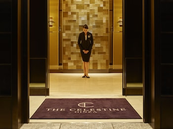 HOTEL THE CELESTINE GINZA Interior Entrance