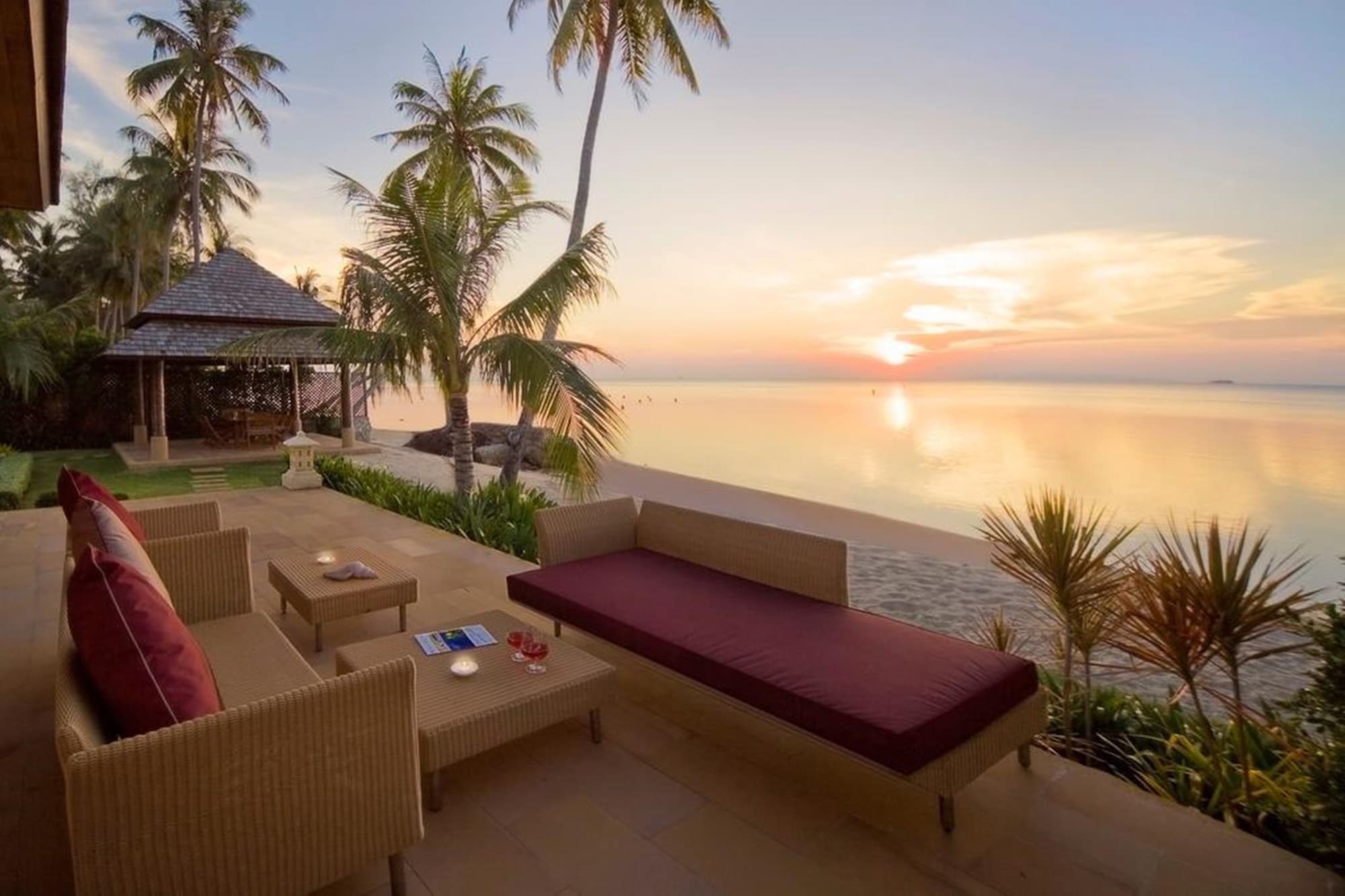 Samara Luxury Beachfront Villa, Ko Samui