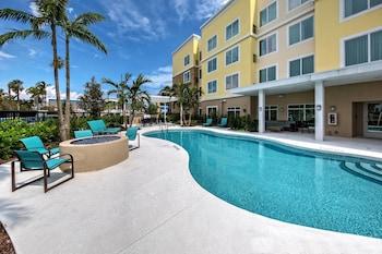 帕諾海灘西勞德代爾堡旅居飯店 Residence Inn Fort Lauderdale Pompano Beach Central