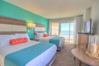 Ocean Front w/Balcony, 2 Doubles & Kit. at Monte Carlo Boardwalk / Oceanfront Ocean City in Ocean City