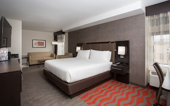 Suite, 1 King Bed with Sofa bed, Accessible, Non Smoking (Hearing, Roll-In Shower)