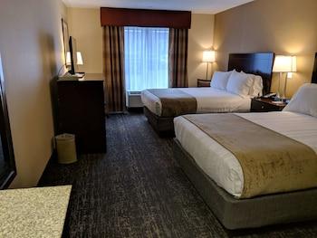 Standard Room, 2 Queen Beds, Non Smoking, Microwave