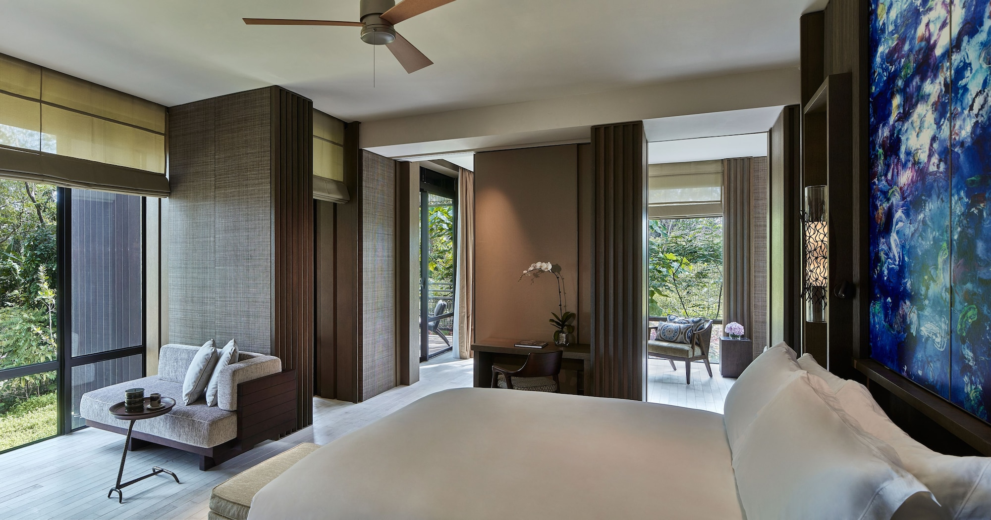 Junior Suite, 1 King Bed, Balcony, Garden View (Rainforest)