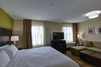 Studio Suite, 1 King Bed, Accessible, Kitchen (Hearing)