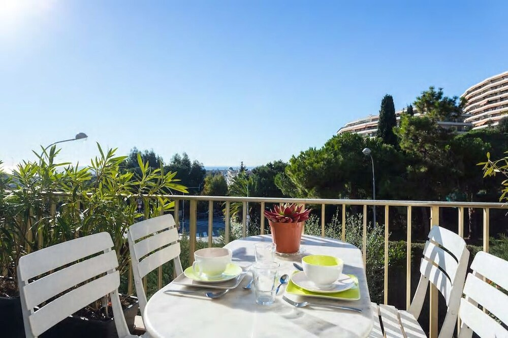 Nice Booking - Lanterne Terrasse Vue mer Parking