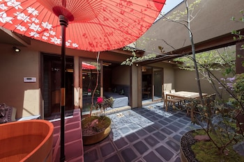 GOZAN HOTEL&SERVICED APARTMENT Courtyard View