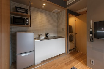 GOZAN HOTEL&SERVICED APARTMENT Private Kitchenette