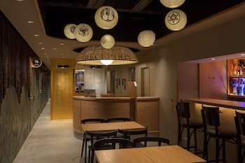 GOZAN HOTEL&SERVICED APARTMENT Reception