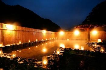 砂湯のお膝元 湯原国際観光ホテル 菊之湯
