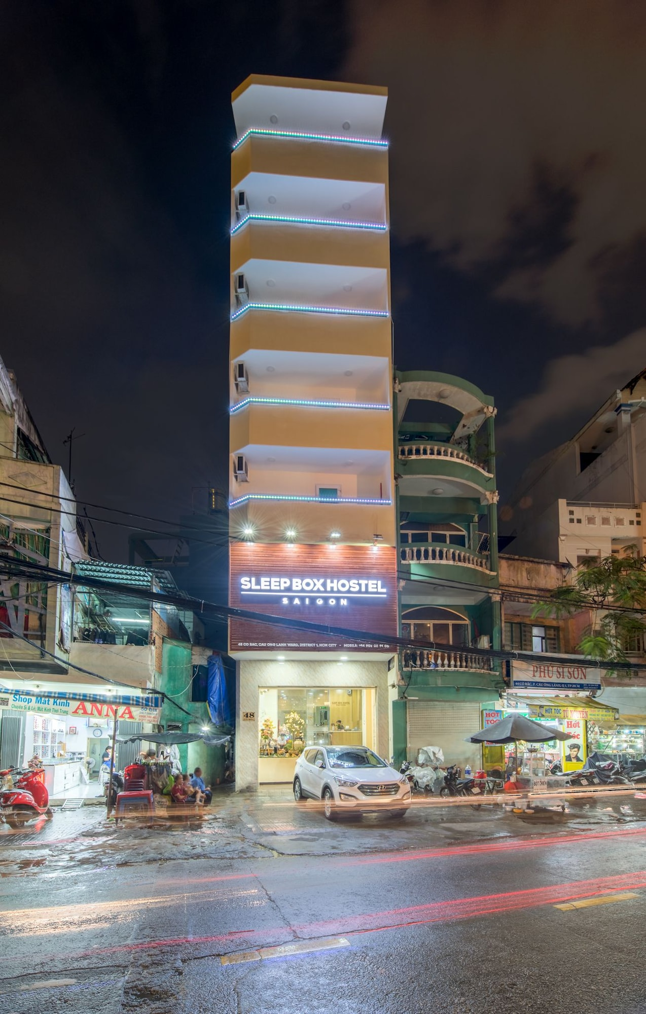 Chy Chy Saigon Hostel, Quận 1