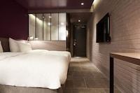 特级双床房, 城市景观
