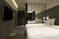 高級雙床房, 城市景觀