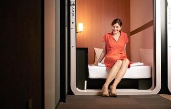 ビジネスクラス カプセルルーム女性用 3㎡ ファーストキャビン関西空港