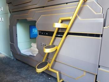 Guestroom at The Capsule Hotel - Hostel in Haymarket