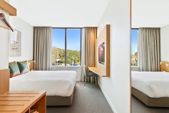 Guestroom at Mantra Hotel at Sydney Airport in Mascot