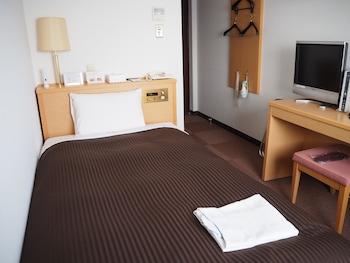 シングルルーム 喫煙可 専用バスルーム|ホテル ルートつくば